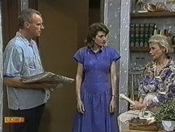Jim Robinson, Beverly Marshall, Helen Daniels in Neighbours Episode 0731