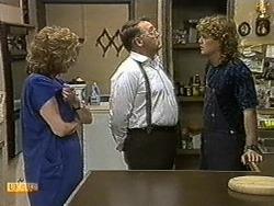 Madge Bishop, Harold Bishop, Henry Ramsay in Neighbours Episode 0731