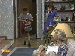 Todd Landers, Beverly Robinson, Helen Daniels in Neighbours Episode 0731