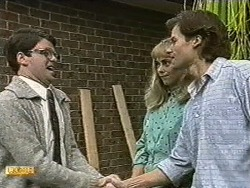 David Bishop, Jane Harris, Mike Young in Neighbours Episode 0732