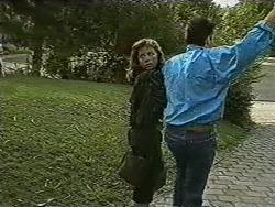 Prue Watkins, David Bishop in Neighbours Episode 0732
