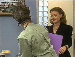 Gail Robinson, Nina Williams in Neighbours Episode 0733