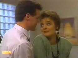 Paul Robinson, Gail Robinson in Neighbours Episode 0750