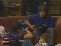 Des Clarke, Mike Young, Jamie Clarke in Neighbours Episode 0751