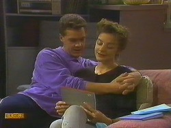 Paul Robinson, Gail Robinson in Neighbours Episode 0751