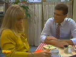 Jane Harris, Des Clarke in Neighbours Episode 0751