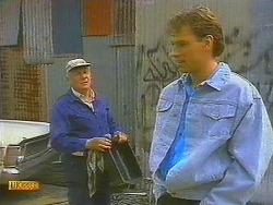 Rob Lewis, Steve Fisher in Neighbours Episode 0752