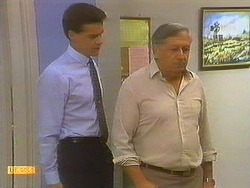 Paul Robinson, Rob Lewis in Neighbours Episode 0752
