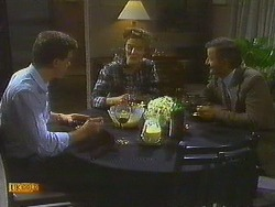 Paul Robinson, Gail Robinson, Ian Chadwick in Neighbours Episode 0752