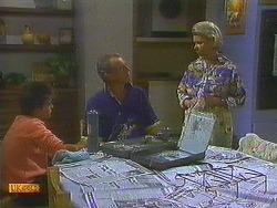 Todd Landers, Jim Robinson, Helen Daniels in Neighbours Episode 0753