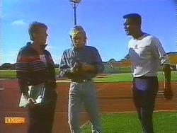 Trainer, Scott Robinson, Pete Baxter in Neighbours Episode 0753