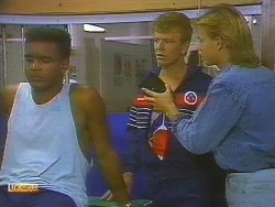 Pete Baxter, Trainer, Scott Robinson in Neighbours Episode 0753
