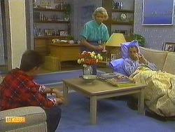 Todd Landers, Helen Daniels, Jim Robinson in Neighbours Episode 0753