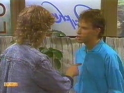 Henry Ramsay, Steve Fisher in Neighbours Episode 0753
