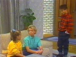 Katie Landers, Helen Daniels, Todd Landers in Neighbours Episode 0754