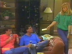Paul Robinson, Des Clarke, Jane Harris  in Neighbours Episode 0754
