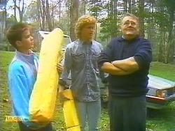 Todd Landers, Henry Ramsay, Harold Bishop in Neighbours Episode 0754