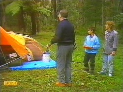Harold Bishop, Todd Landers, Henry Ramsay in Neighbours Episode 0754