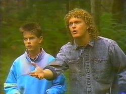 Todd Landers, Henry Ramsay  in Neighbours Episode 0754