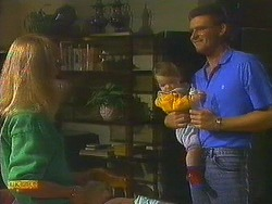 Jane Harris, Jamie Clarke, Des Clarke in Neighbours Episode 0755