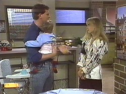 Des Clarke, Jamie Clarke, Jane Harris in Neighbours Episode 0756