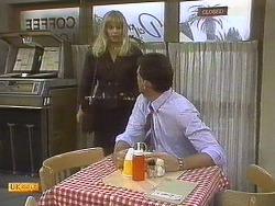 Jane Harris, Des Clarke in Neighbours Episode 0757