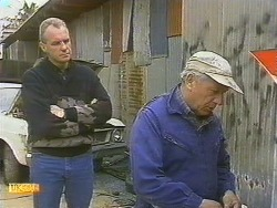Jim Robinson, Rob Lewis in Neighbours Episode 0757