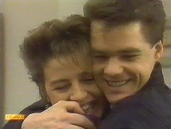 Gail Robinson, Paul Robinson in Neighbours Episode 0757