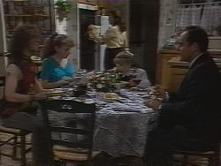 Craig Slater, Debbie Martin, Julie Robinson, Hannah Martin, Philip Martin in Neighbours Episode 1837