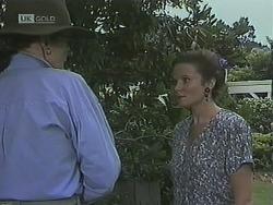 Dorothy Burke, Julie Robinson in Neighbours Episode 1838