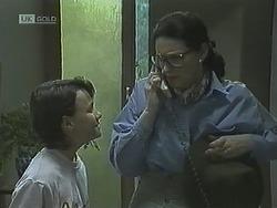 Toby Mangel, Dorothy Burke in Neighbours Episode 1838