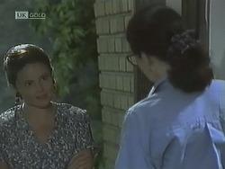 Julie Robinson, Dorothy Burke in Neighbours Episode 1838