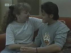 Debbie Martin, Rick Alessi in Neighbours Episode 1838