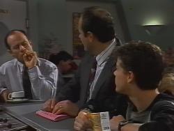 Benito Alessi, Philip Martin, Michael Martin in Neighbours Episode 1839