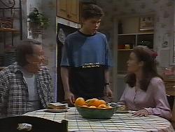 Doug Willis, Michael Martin, Julie Martin in Neighbours Episode 1839
