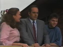Julie Martin, Philip Martin, Michael Martin in Neighbours Episode 1839