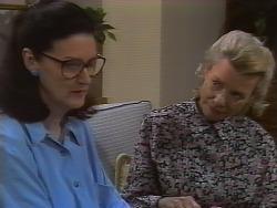 Dorothy Burke, Helen Daniels in Neighbours Episode 1839