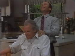 Jim Robinson, Benito Alessi in Neighbours Episode 1839