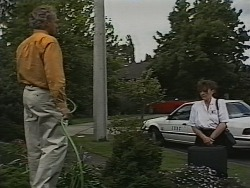 Jim Robinson, Pam Willis in Neighbours Episode 1840