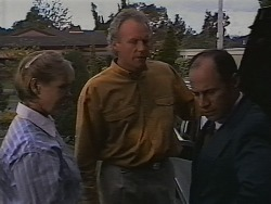 Cathy Alessi, Jim Robinson, Benito Alessi in Neighbours Episode 1840