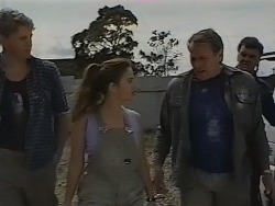 Davo, Beth Brennan, Doug Willis in Neighbours Episode 1840