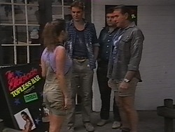 Beth Reed , Davo, Doug Willis in Neighbours Episode 1840