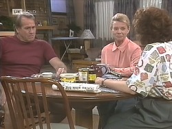 Doug Willis, Helen Daniels, Pam Willis in Neighbours Episode 1841