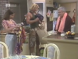 Beth Brennan, Brad Willis, Lou Carpenter in Neighbours Episode 1842