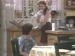 Michael Martin, Julie Robinson in Neighbours Episode 1842