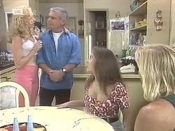 Annalise Hartman, Lou Carpenter, Beth Brennan, Brad Willis in Neighbours Episode 1842