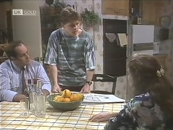 Philip Martin, Michael Martin, Julie Robinson in Neighbours Episode 1842