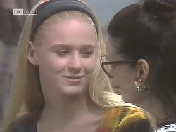 Phoebe Bright, Dorothy Burke in Neighbours Episode 1843