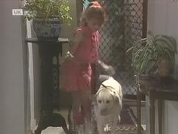 Hannah Martin, Bouncer in Neighbours Episode 1843