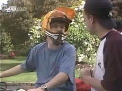 Michael Martin, Jordan Farnsworth in Neighbours Episode 1843